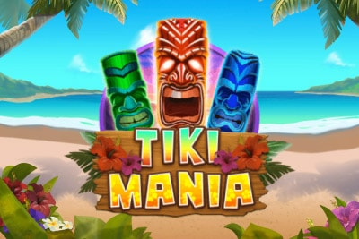 Tiki Mania Mobile Slot Logo