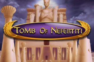 Tomb of Nefertiti Mobile Slot Logo