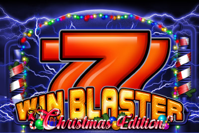 Win Blaster Christmas Edition Mobile Slot Logo
