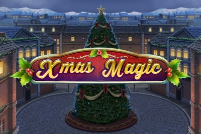 Xmas Magic Mobile Slot Logo