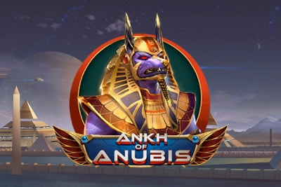 Ankh of Anubis Mobile Slot Logo