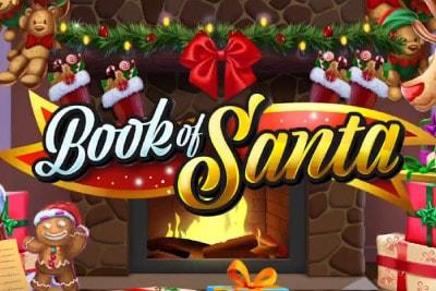 Book of Santa Mobile Slot Logo