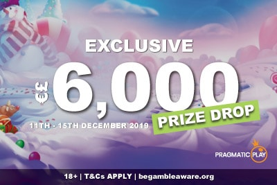 Casumo Casino Exclusive Cash Prize Drop