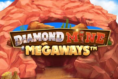Diamond Mine Megaways Mobile Slot Logo
