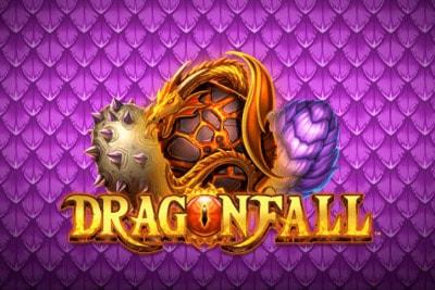 Dragonfall Mobile Slot Logo