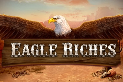 Eagle Riches Mobile Slot Logo