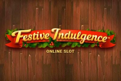 Festive Indulgence Mobile Slot Logo