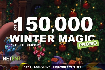 Enter The NetEnt Casinos Winter Magic Promo
