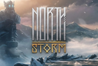 North Storm Mobile Slot Logo