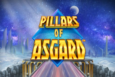 Pillars Of Asgard Mobile Slot Logo