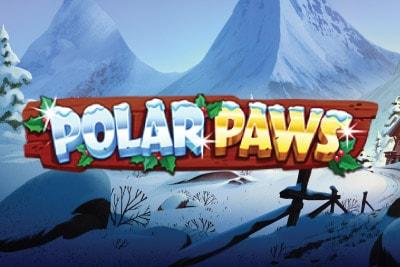 Polar Paws Mobile Slot Logo