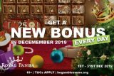 Get Your Royal Panda Casino Bonuses In December