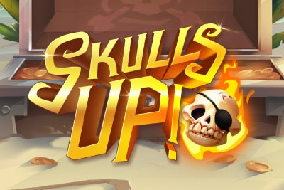 Skulls Up Mobile Slot Logo