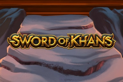 Sword of Khans Mobile Slot Logo