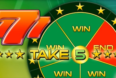 Take 5 Mobile Slot Logo