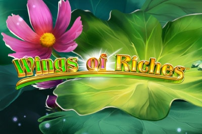 Wings of Riches Mobile Slot Logo