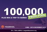 Win Real Cash & A Trip To Hawaii At Yggdrasil Casinos