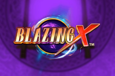 Blazing X Mobile Slot Logo