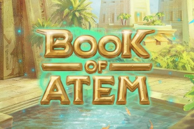 Book of Atem Mobile Slot Logo