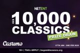Casumo Casino NetEnt Slots Real Money Prize Draw