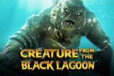 Creature From The Black Lagoon Mobile Slot Logo