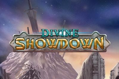 Divine Showdown Mobile Slot Logo