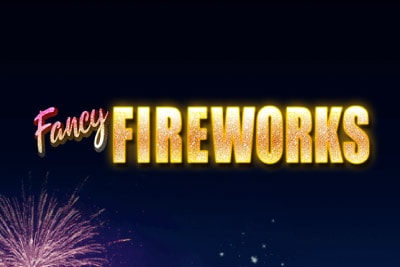 Fancy Fireworks Mobile Slot Logo