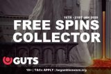 Play In The GUTS Casino Free Spins Collector