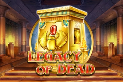 Legacy of Dead Mobile Slot Logo