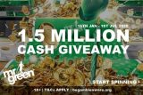 Mr Green Mobile Casino Cash Giveaway