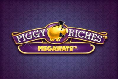 Piggy Riches Megaways Mobile Slot Logo