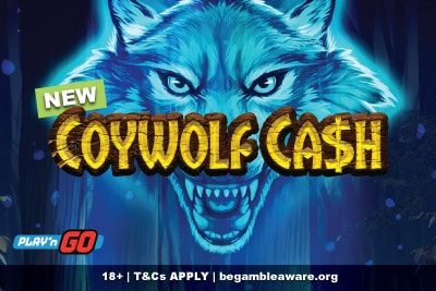 New Play'n GO Coywolf Cash Mobile Slot Game