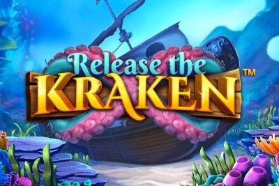 Release The Kraken Mobile Slot Logo