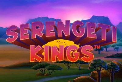 Serengeti Kings Mobile Slot Logo