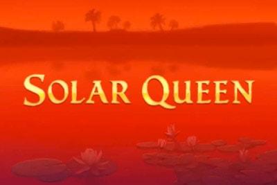 Solar Queen Mobile Slot Logo