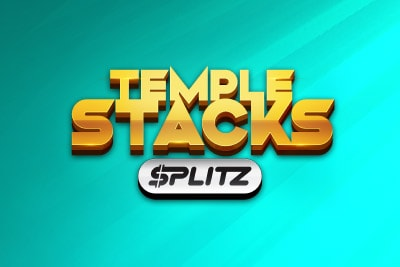 Temple Stacks Splitz Mobile Slot Logo