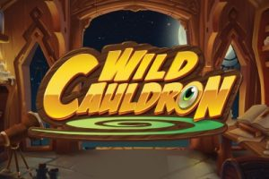 Wild Cauldron Mobile Slot Logo