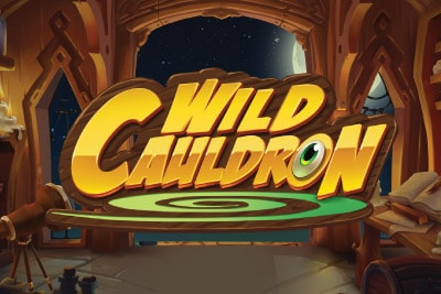 Wild Cauldron Mobile Slot Logo