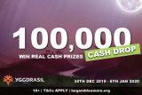 Randomly Win A Share of 100,000 Playing Yggdrasil Slots