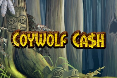 Coywolf Cash Mobile Slot Logo