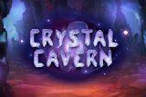 Crystal Cavern Mobile Slot Logo