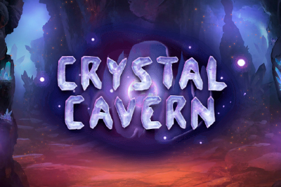 Crystal Cavern Mobile Slot Logo