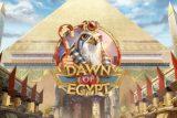 Dawn of Egypt Mobile Slot Logo