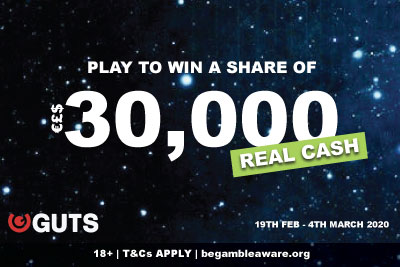 Win Real Cash In The Latest GUTS Casino Slot Tournaments