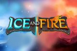 Ice And Fire Mobile Slot Logo