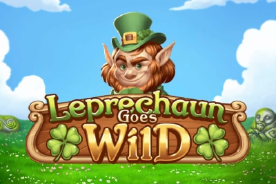 Leprechaun Goes Wild Mobile Slot Logo