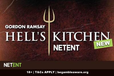New NetEnt Gordon Ramsay Hell's Kitchen Slot Coming