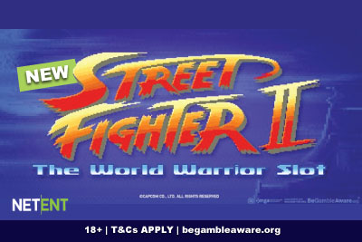 New NetEnt Street Fighter II Slot Coming In 2020