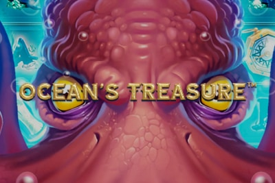 Ocean's Treasure Mobile Slot Logo