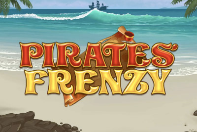 Pirates Frenzy Mobile Slot Logo